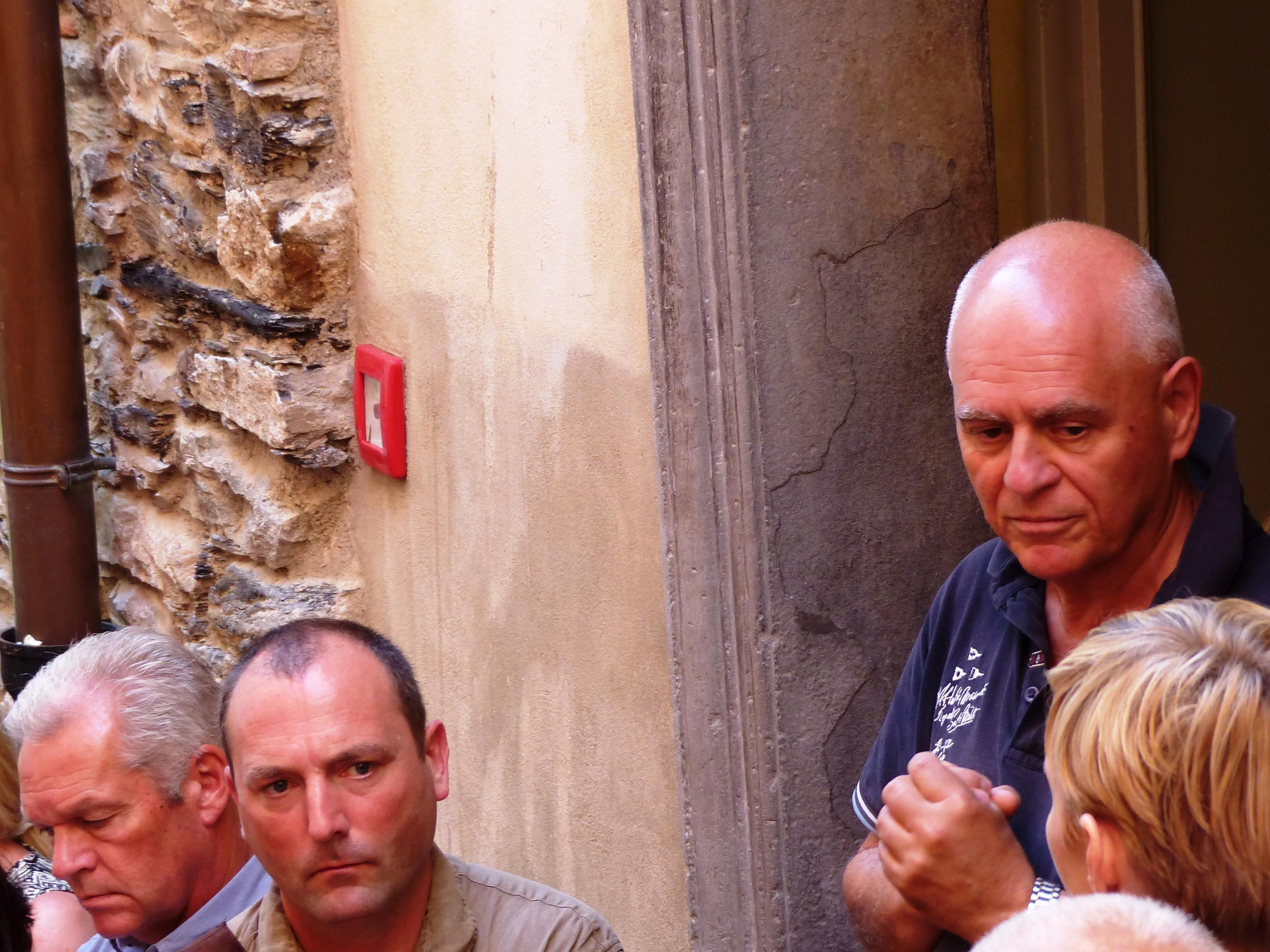 Alfonso Sista - Storico dell'arte presso la Soprintendenza al Patrimonio artistico della Liguria (destra)