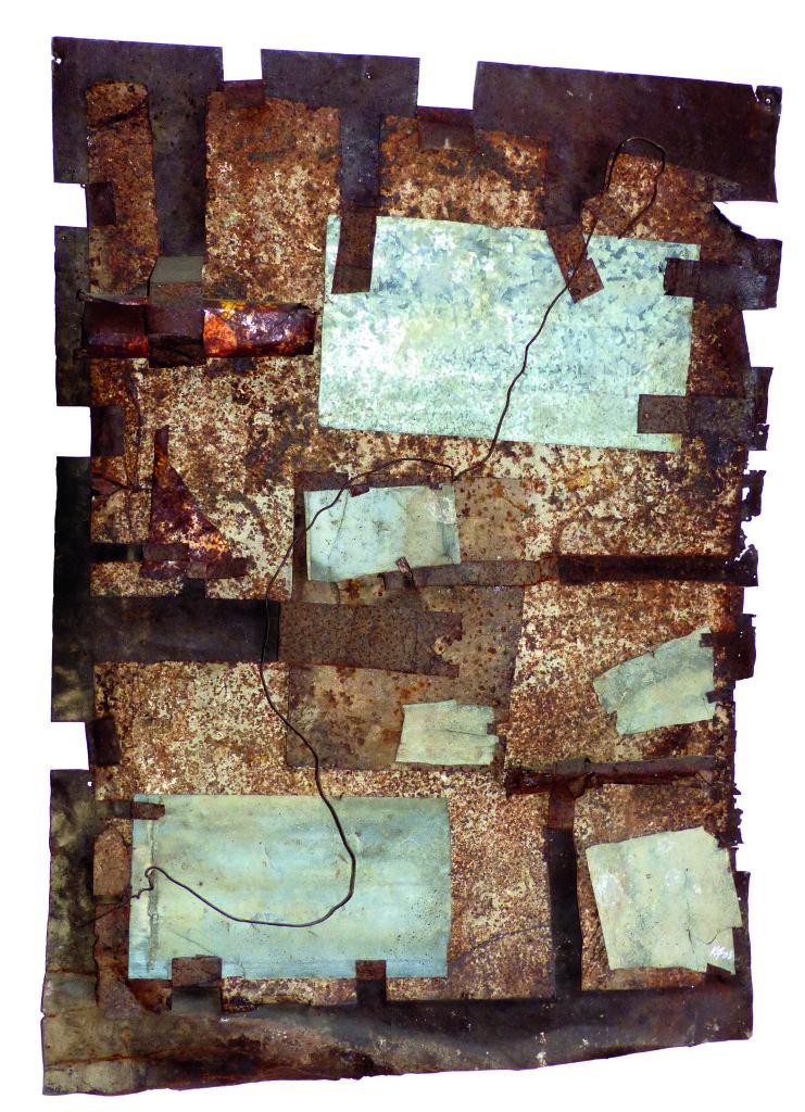 dalla terra-flynn-metal tapestry